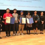 イメージフォーラム・フェスティバル表彰式_トモトシ